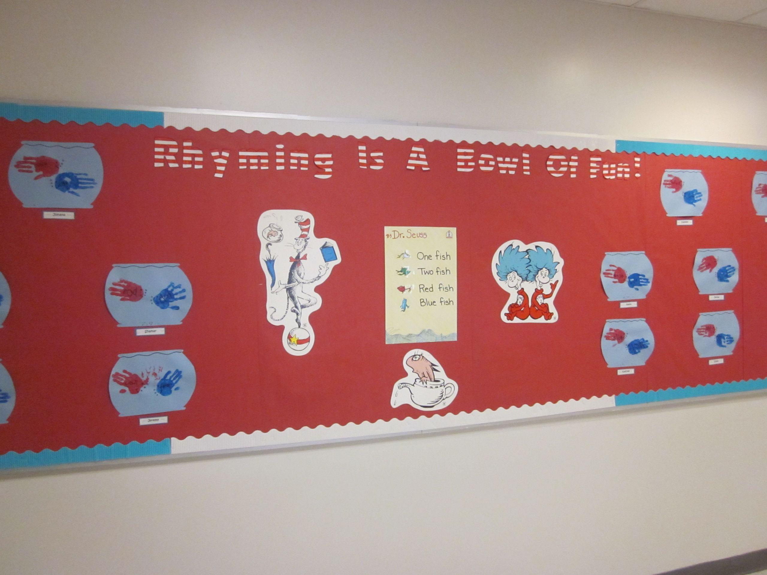 8 Rhyming Dr Seuss Printable Preschool Worksheets In