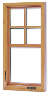 Loewen Mission Casement Window The Sash Is The Portion Of The