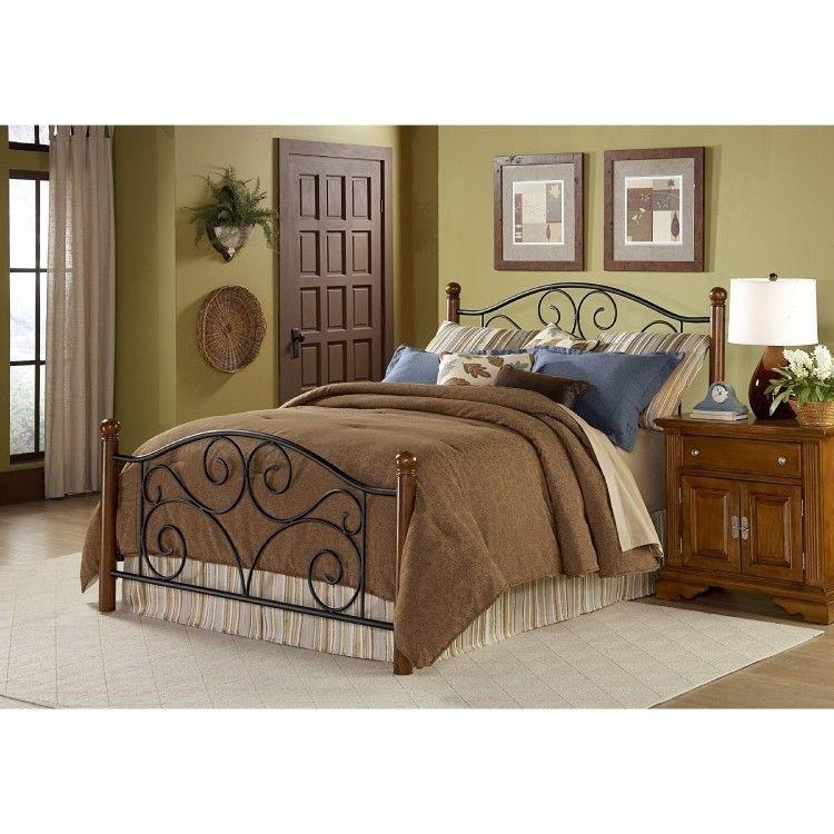 Queen Size Headboard Frame Bedding Wood Bed Bedroom Furniture