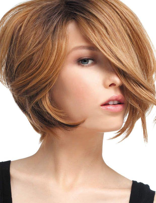 Les colorations pour cheveux courts Coiffure courte