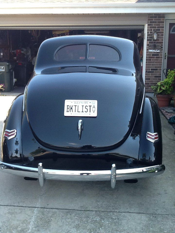 Technical - Third Brake light for 1940 Ford Coupe with no package