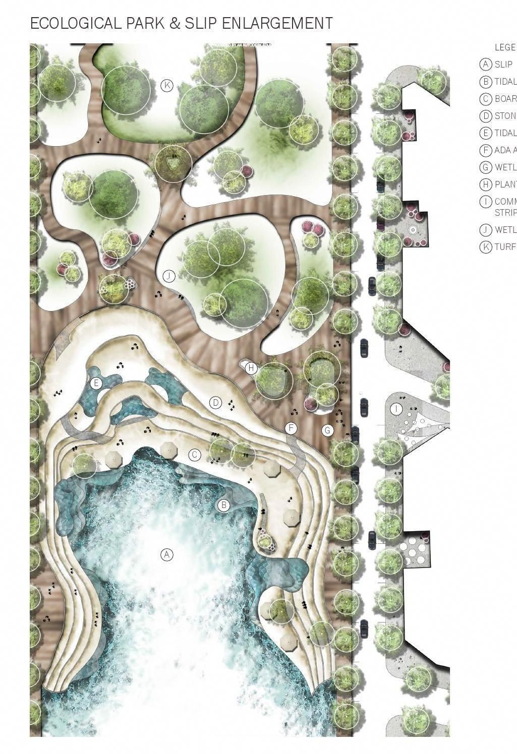 Landscape Architecture Portfolio : BLA 2016 #landscapeplans