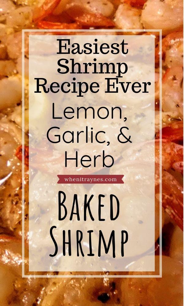 Simply Amazing Baked Shrimp Recipe #easyshrimprecipes
