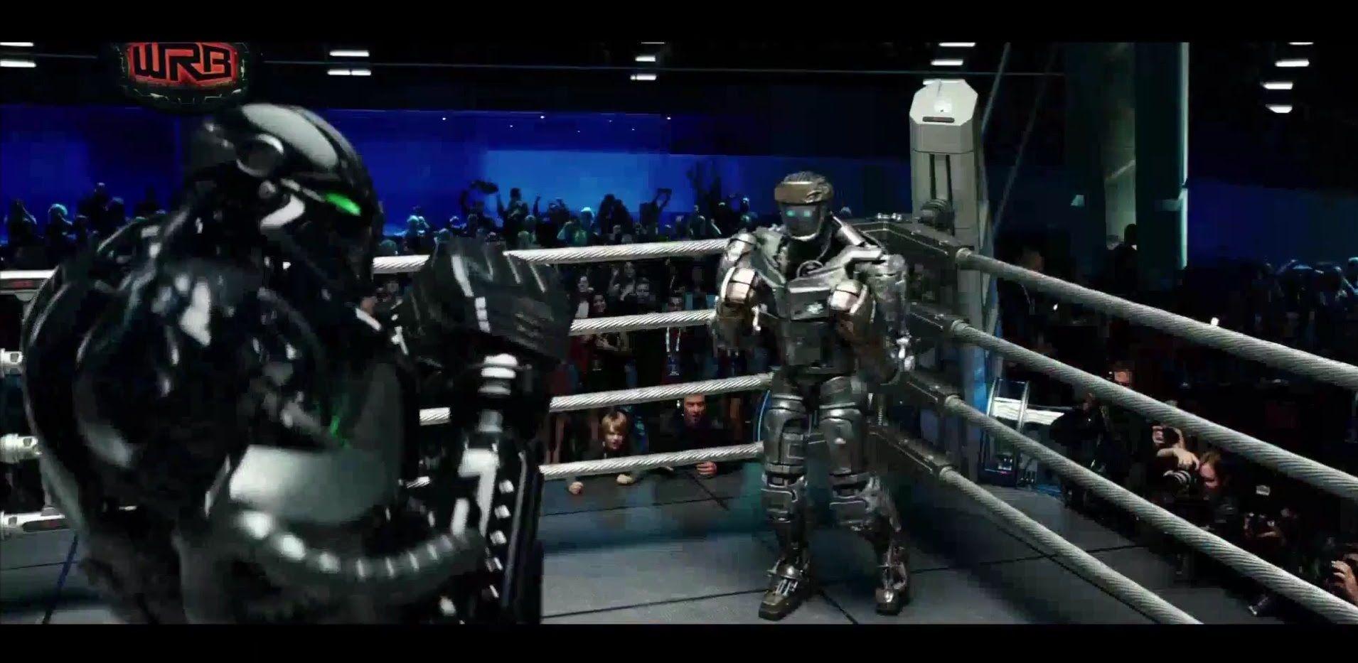 real steel - atom vs zeus (round 1) [hd] | inspiring.. | real steel