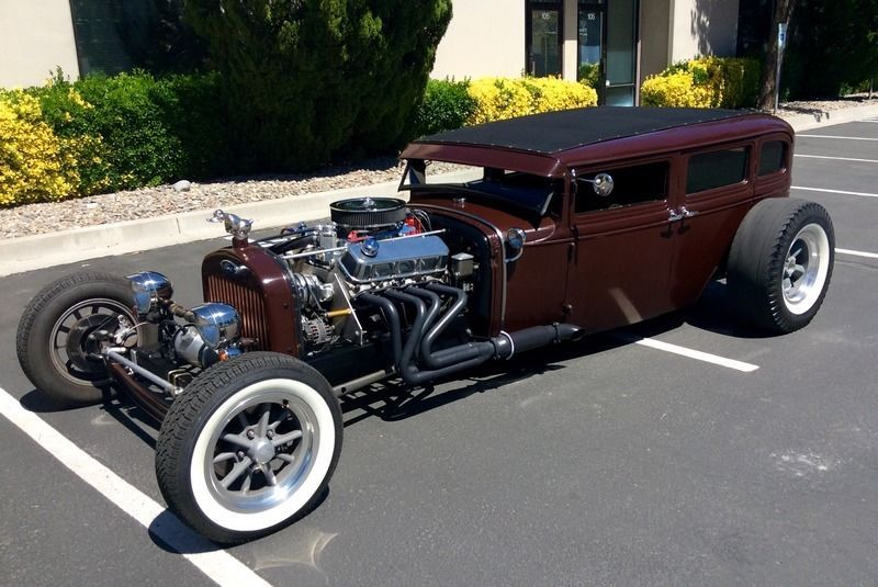 1930 Ford Model A fordor rat rod | Hot rods for sale | Pinterest ...