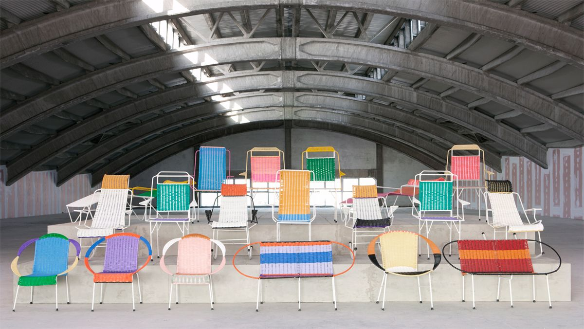 want!!!! Marni outdoor chairs