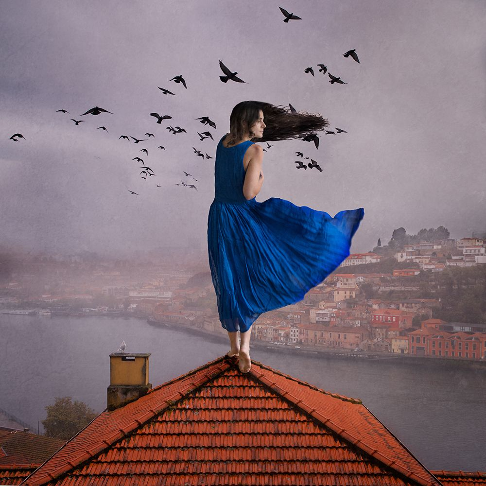 Rooftop song by Amélie Berton - more curated inspiration: http://bit.ly/1mc91VO #photography #inspiration