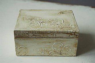 Krabičky - Svadobná krabička - SC 01 - 5418943_