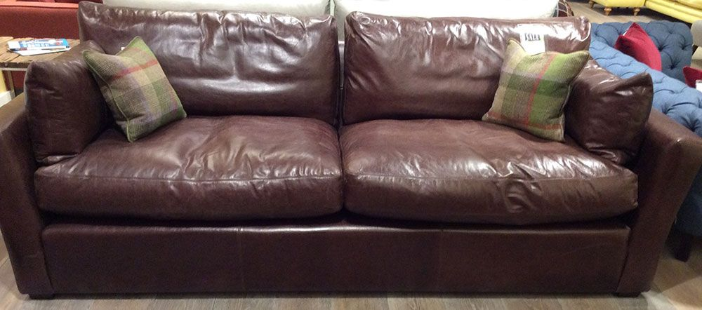 Wallis 4 Seater Sofa In Old English Dark Brown Leather Http Www Sofaworkshop Com Sofa Wallis Dark Brown Leather Sofa Seater Sofa