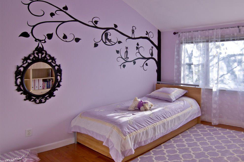 Wonderful Awesome Purple Kids Bedroom