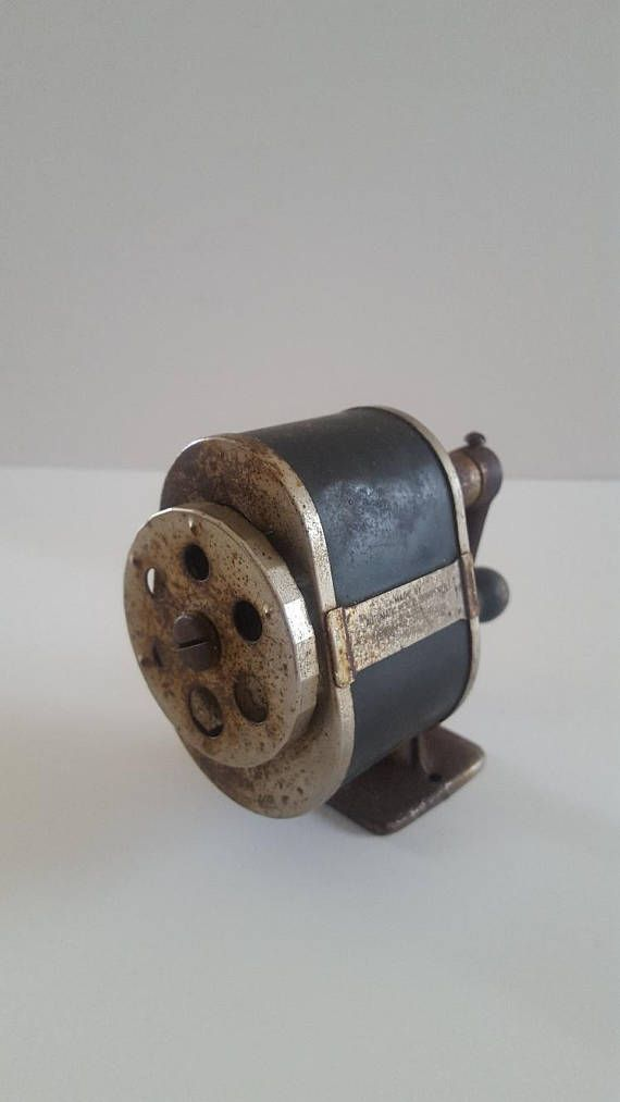 Vintage 1920's Automatic Pencil Sharpener Division Spengler