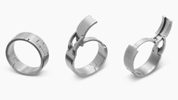 A Safer Wedding Band For Active Husbands Clamp Weddings and Ring