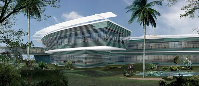 Mumbai 5 Star Hotel Concept Din Partea Dreapta A Creierului D