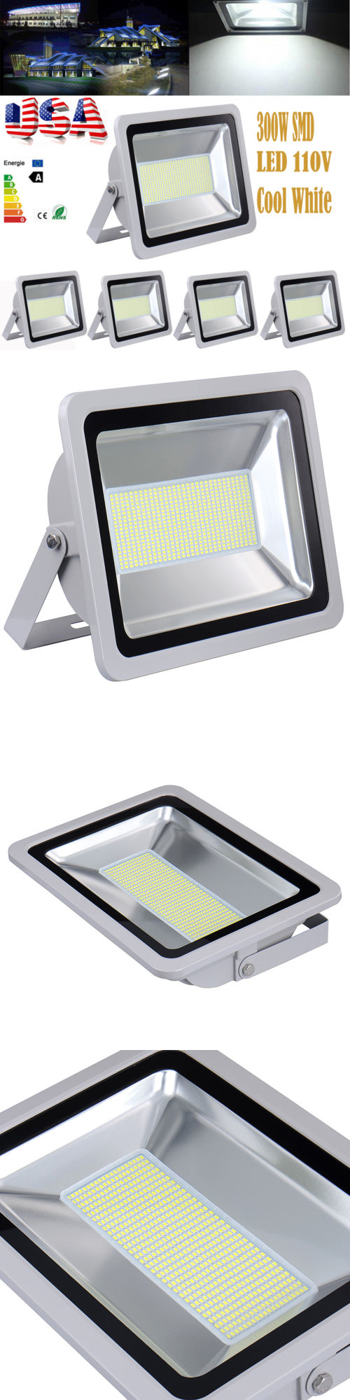 Outdoor security and floodlights x w watts outdoor led