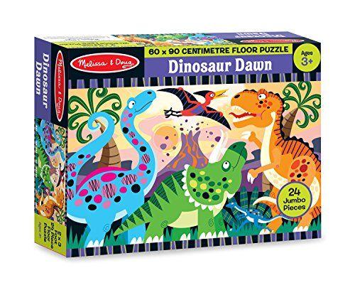 Melissa Doug Dinosaur Dawn Floor Puzzle Austens Xmas Presents Puzzle Crafts Toys Dinosaur Puzzles