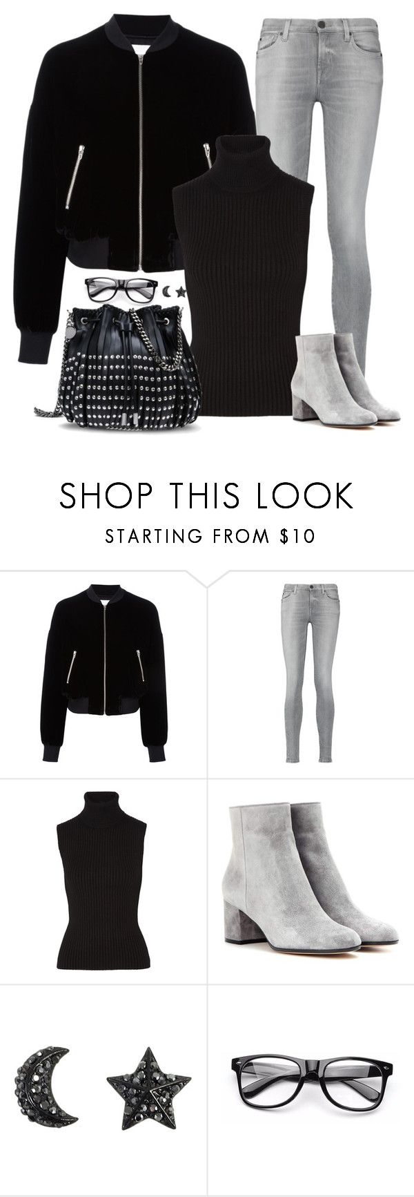 """""""Untitled 326 (Fall/Winter)"""" by maddkat ❤ liked on Polyvore featuring T By Alexander Wang, 7 For All Mankind, Michael Kors, Gianvito Rossi and STELLA McCARTNEY"""
