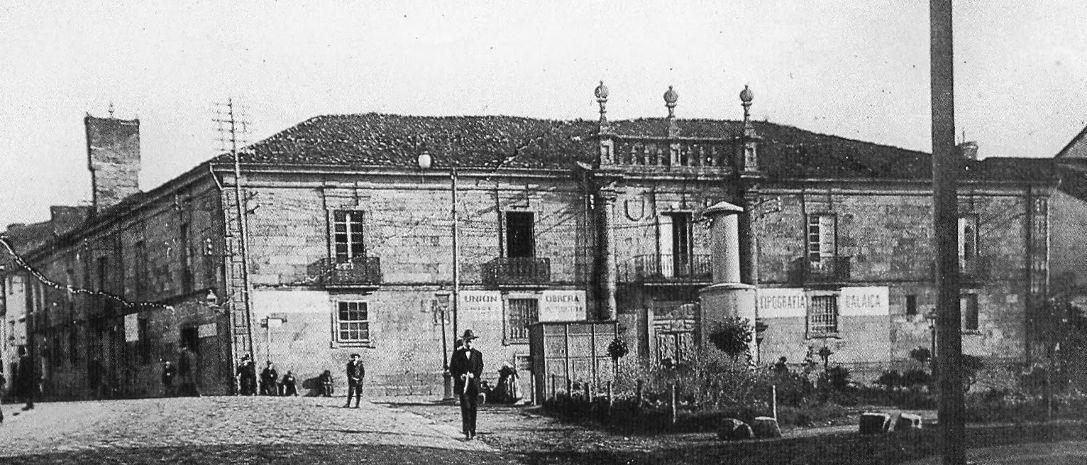 Desaparecido Pazo Da Inquisicion Compostela Praza De Galicia Santiago De Compostela Imagenes De Santiago Fotografía Antigua
