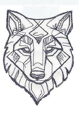 Tribal Wolf Tattoo Tribal Wolf Tattoo Wolf Totem Totem Tattoo