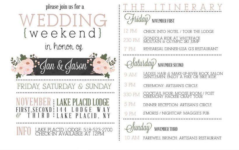 Wedding Weekend Itinerary Template Free In 2021 Wedding Day Itinerary Wedding Itinerary Template Wedding Itinerary