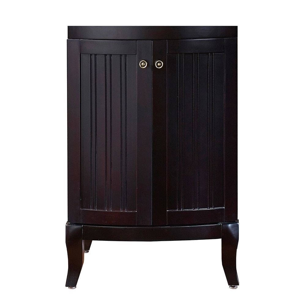 Image Of Virtu USA Khaleesi inch Espresso Bathroom Vanity cabinet