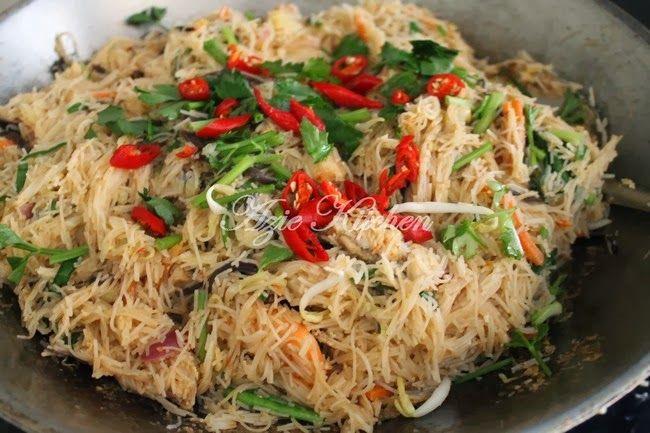 Azie Kitchen Singapore Mee Hoon Resepi Terbaik Chef Dinar Matahari