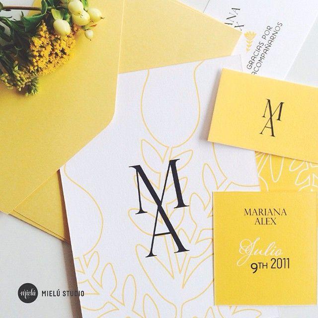 Invitación de boda - Wedding invitation