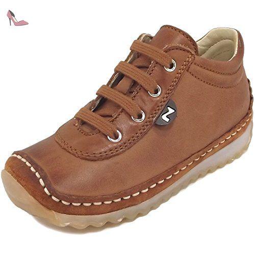 Naturino Apache, Chaussure de ville mixte enfant, brun (cognac), 24 -