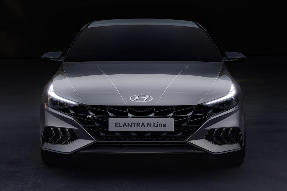 View Photos Of The 2021 Hyundai Elantra N Line Hyundai Elantra Elantra New Elantra