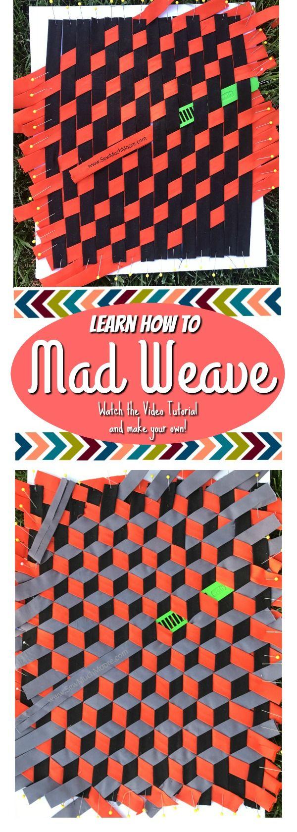Mad Weave | Weben, Muster und Nähen