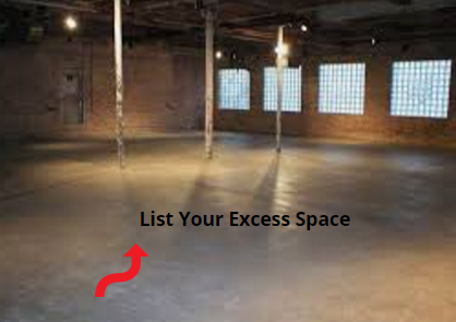 Just Listing Your Excess Space On Smarterspaces Can Help You Earn An Extra Income Fill Up Your Empty Space To Earn A Commercial Property Rental Income Space