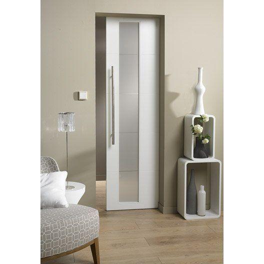 ensemble porte coulissante alaska mdf laqu avec galandage eclisse en aluminium doors porte. Black Bedroom Furniture Sets. Home Design Ideas