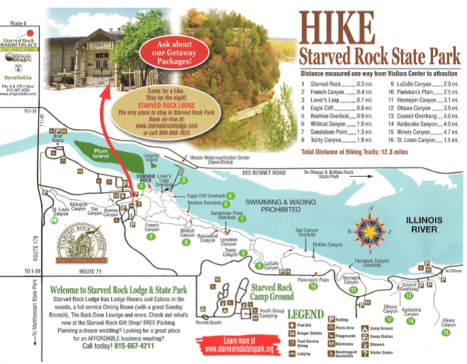 Destinations you love to visit: Starved rock state park ...