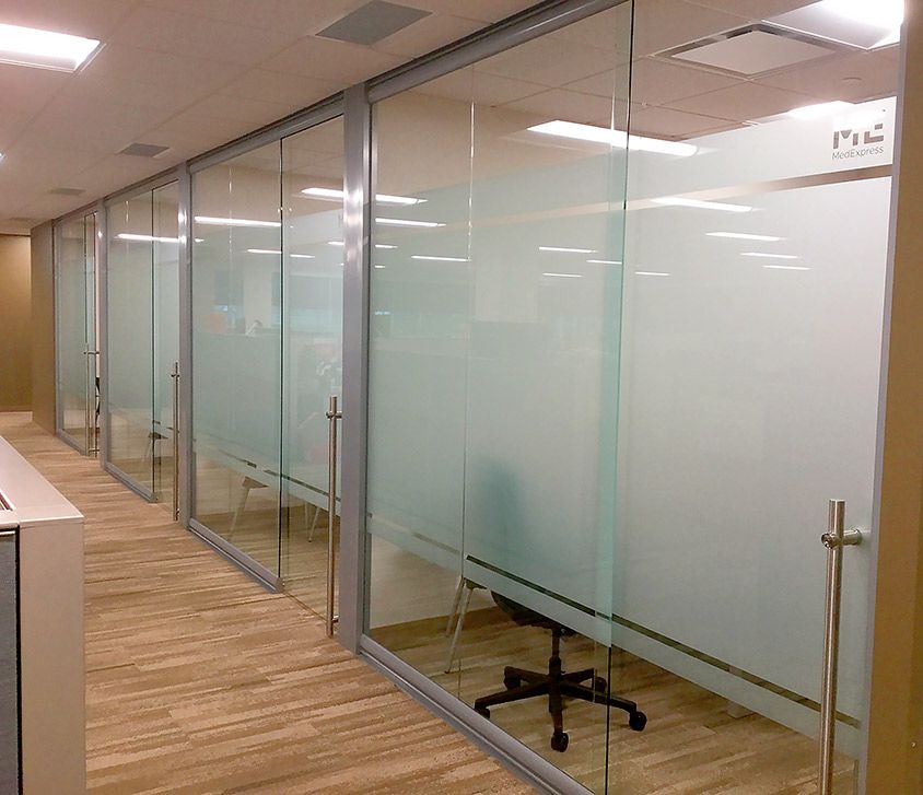 Office Sliding Glass Doors: NxtWall Glass Fronts, Glass