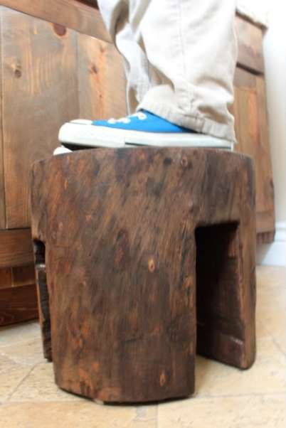 bathroom wood stool | Wanta Try!!!! | Pinterest | Wood stool and Hens