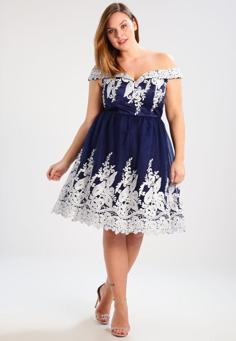 16a696fdf ¡Consigue este tipo de vestido de cóctel de Chi Chi London Curvy ahora! Haz