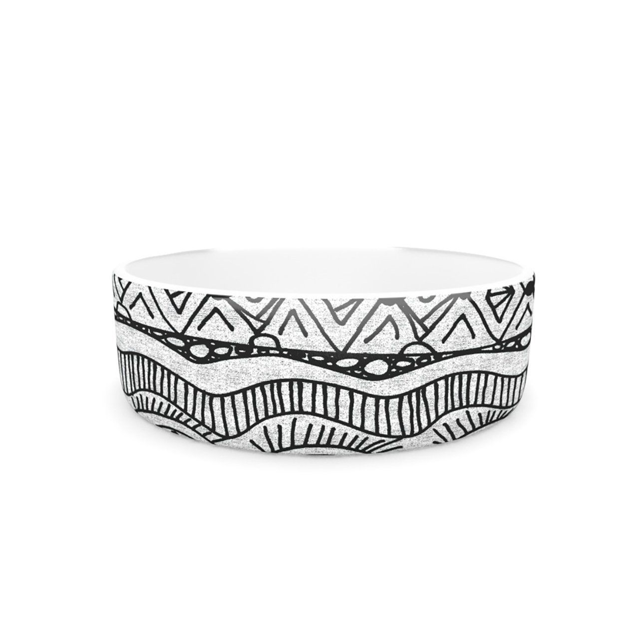 Kess InHouse Catherine Holcombe 'Blanket of Confusion' Pet Bowl, 7-Inch * Don't get left behind, see this great dog product : Pet dog bedding