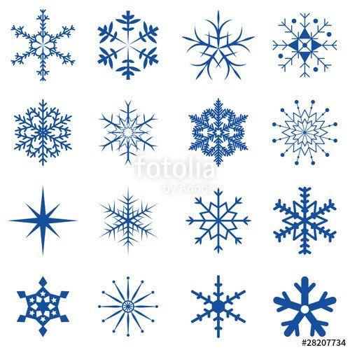 Schneeflocken Vorlage Zum Ausdrucken Pdf Kribbelbunt 6