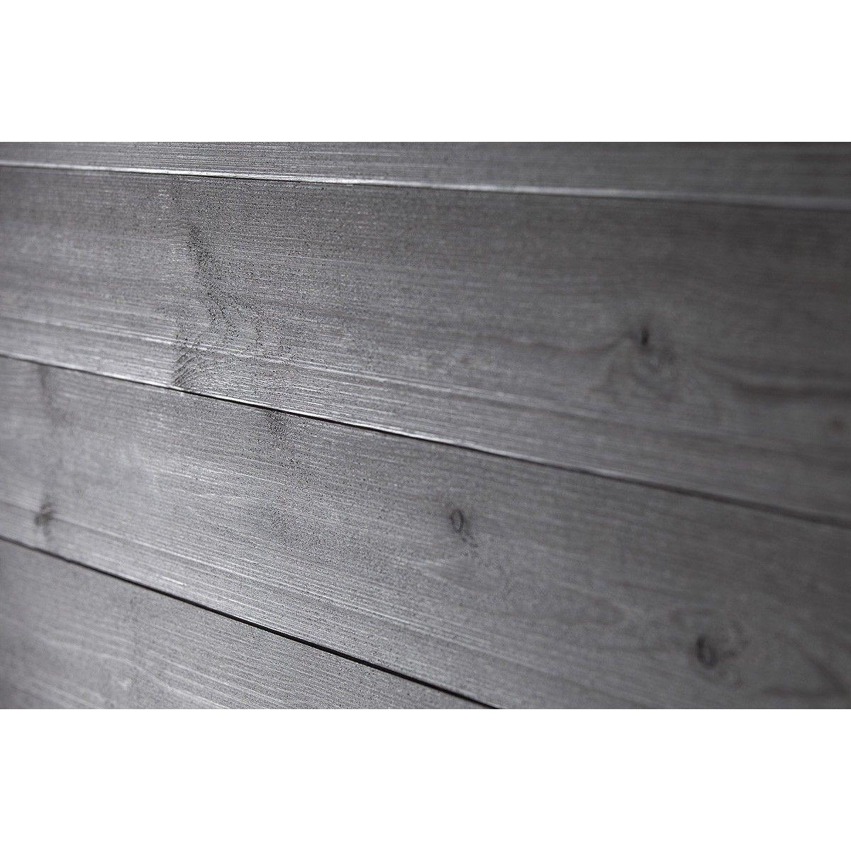 Tyylikästä metallinhohtoa saunaan ja  kosteisiin tiloihin Hienoharjattu leveä struktuuripaneeli soveltuu käytettäväksi niin saunaan kuin kosteiden tilojen kattopaneeliksi. Metallinhohtoista tunnelmaa saunaan ja kosteisiin tiloihin voidaan sisustaa helmiäisharmaalla struktuuripaneelilla.   Piilokiinnitettävä, suorareunainen muoto ja paneelin 176 mm leveys antavat mahdollisuuden katseenvangitseviin massiivisiin puupintoihin. Paneelin hienoharjatulta pinnalta kuultaa puun kauneus…