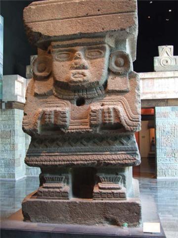 Olmec statue