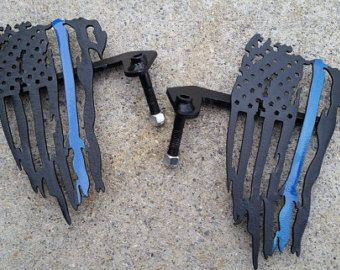 Marine Eagle Globe Anchor Emblem Foot Pegs For Jeep By Jeepjunk