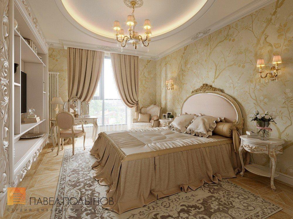 Фото спальня из проекта «Дизайн трехкомнатной квартиры 126 ...