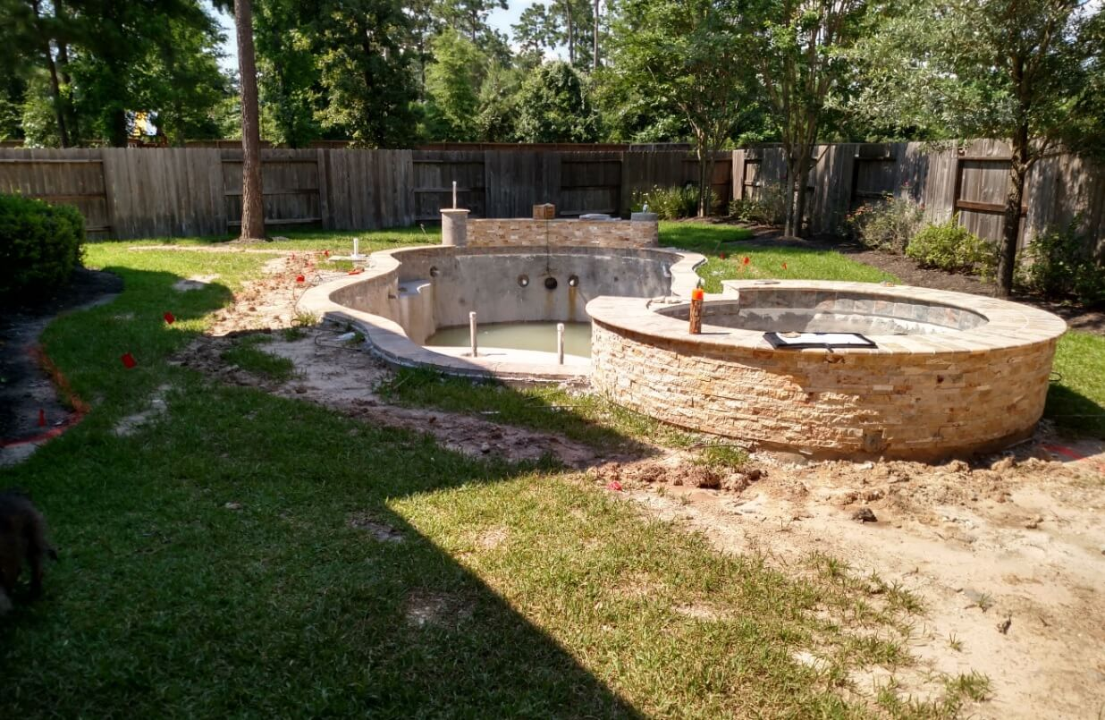 Swimming Pool Construction Timeline Swimming Pool