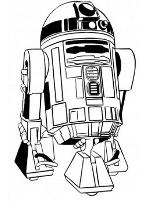 R2d2 Black And White R2d2 Black And White |...