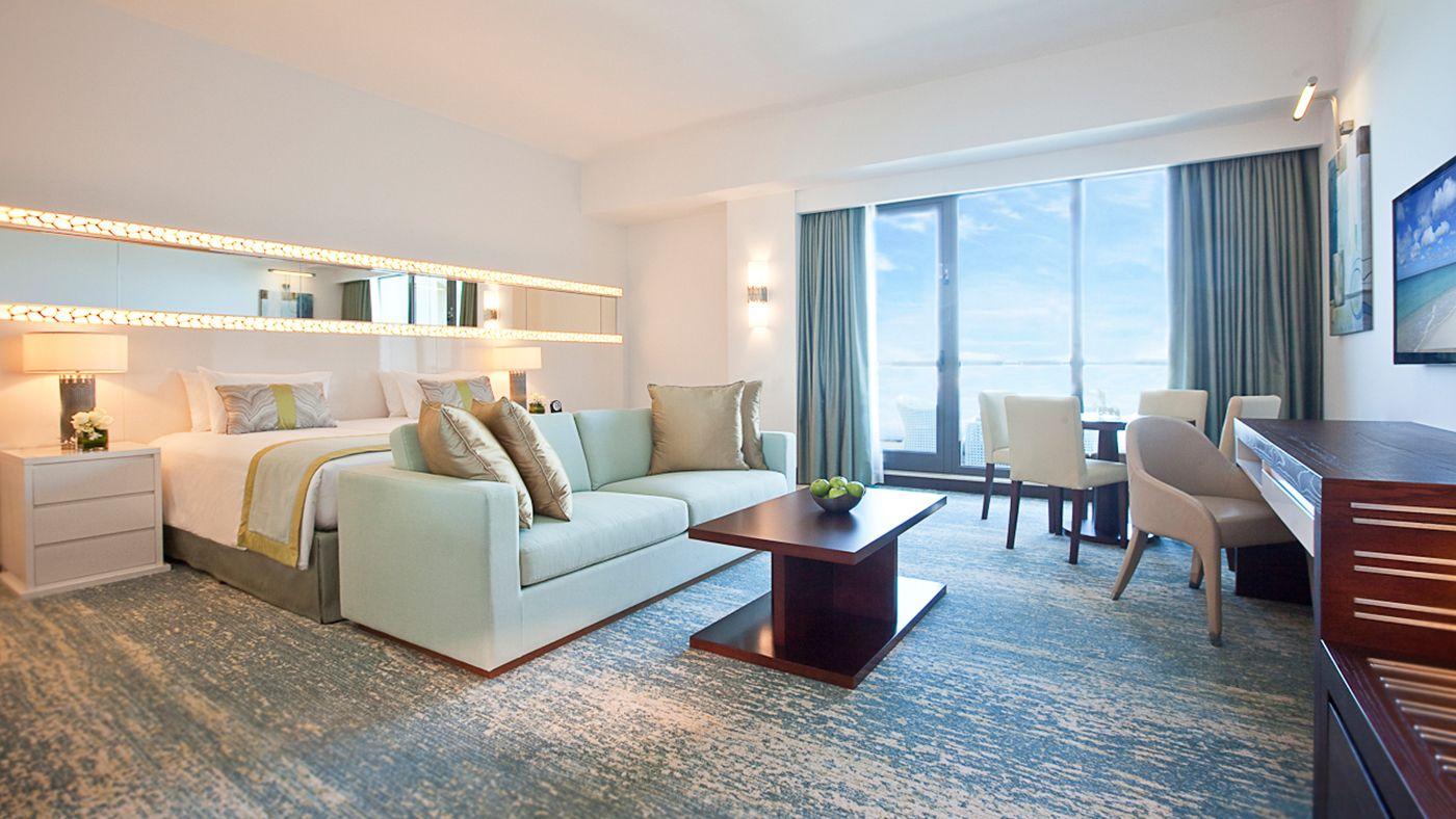 Sea View Junior Suite Bedroom 2 Ocean View Hotel Ocean View Hotel