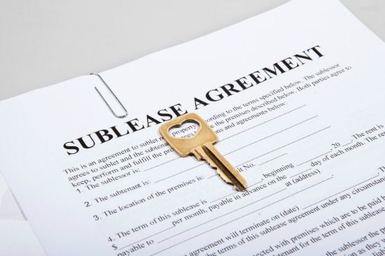 Two tips to bear in mind when youu0027re interested in sub-leasing a - sublease agreement