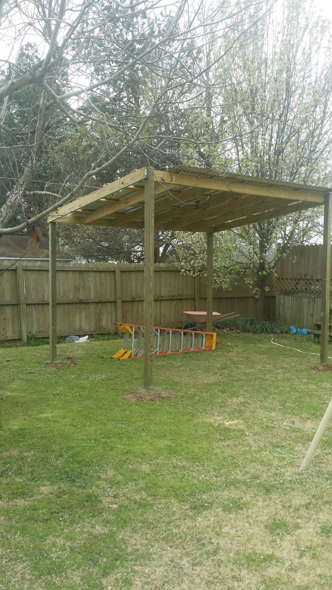 Pin about Diy carport, Carport garage and Shed plans on
