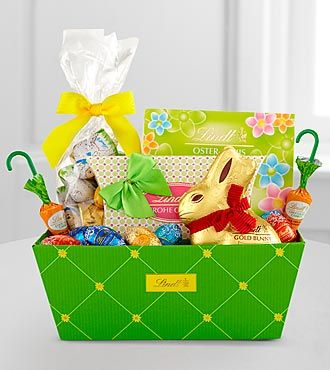 Lindt easter cheer basket from ftd easter pinterest lindt easter cheer basket from ftd negle