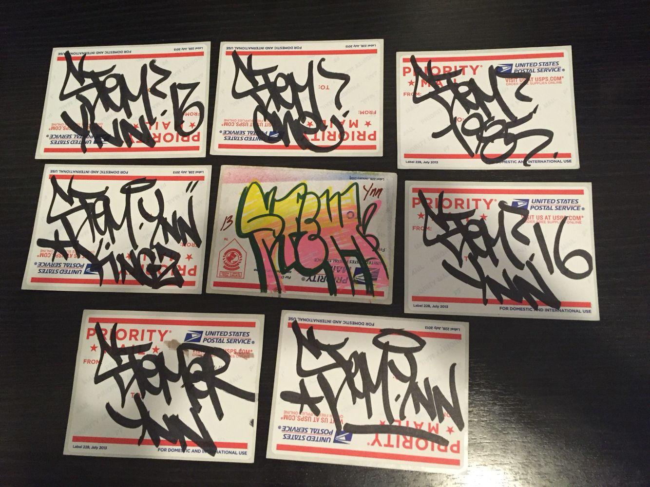 Stem Ynn Stickers  Label Handmade Throwie Stemynn Slaps