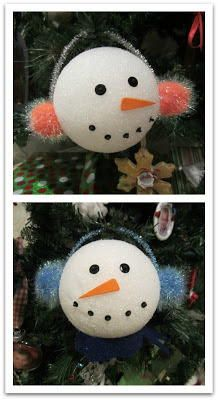 DIY Styrofoam Ball Christmas Ornament — a great project for kids ...
