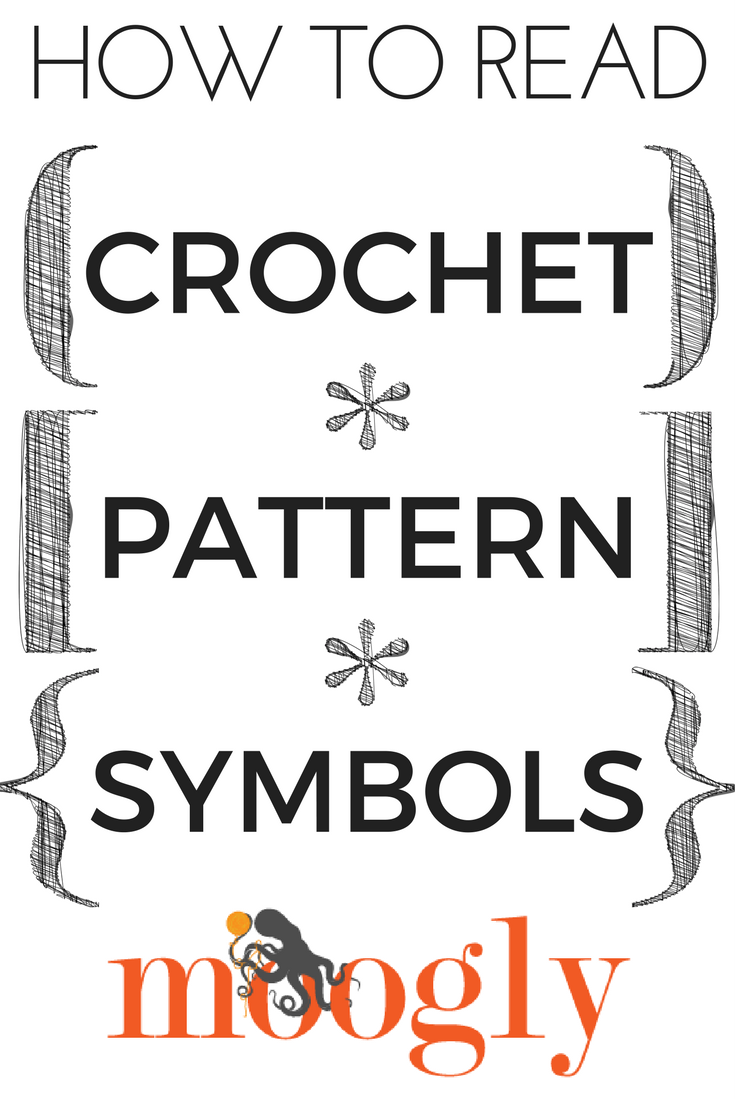 How To Read Crochet Pattern Symbols Various And Sundry Pinterest